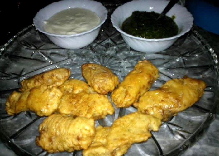Batter fried fish for Fish batter for deep frying