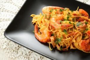 Spaghetti Con Gamberetti
